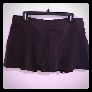 Wine/plum Lululemon Skirt